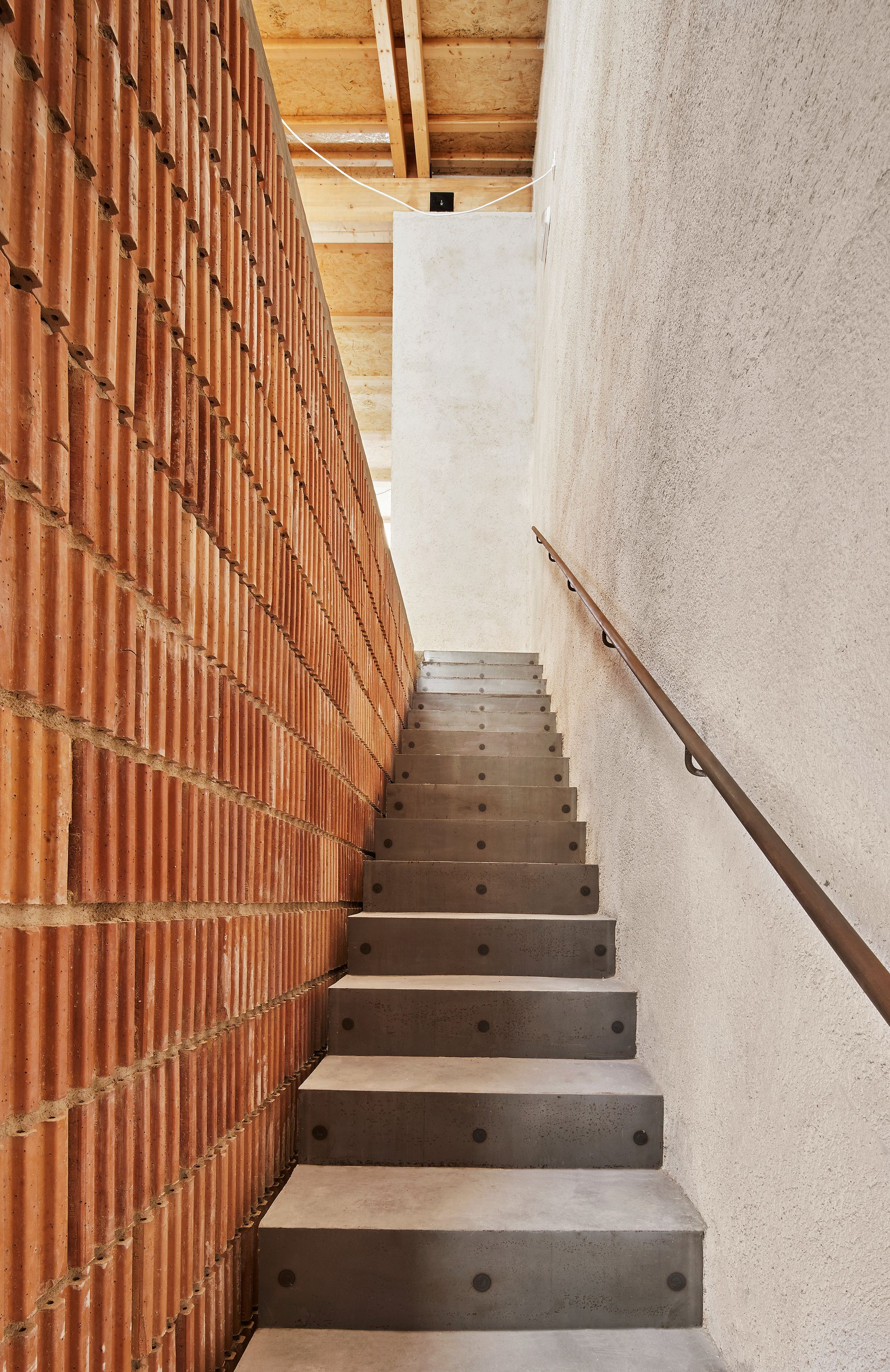 Gallery Of Municipal Archive Aulets Arquitectes 2 Brickwork Architecture Traditional Architecture