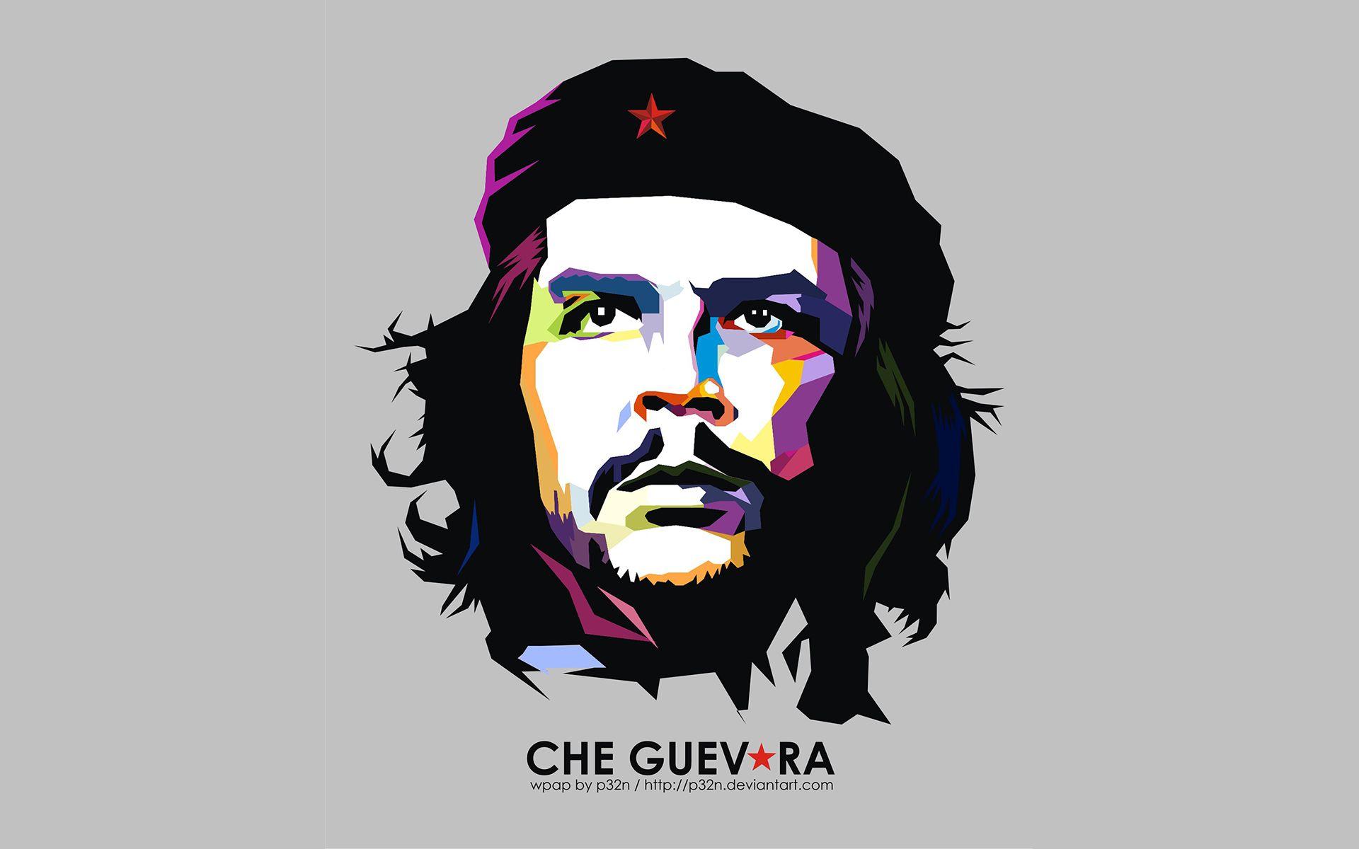 Che Guevara On Wpap Design Free Desktop Hd Wallpaper Wpap Art Che Guevara Art Ernesto Che
