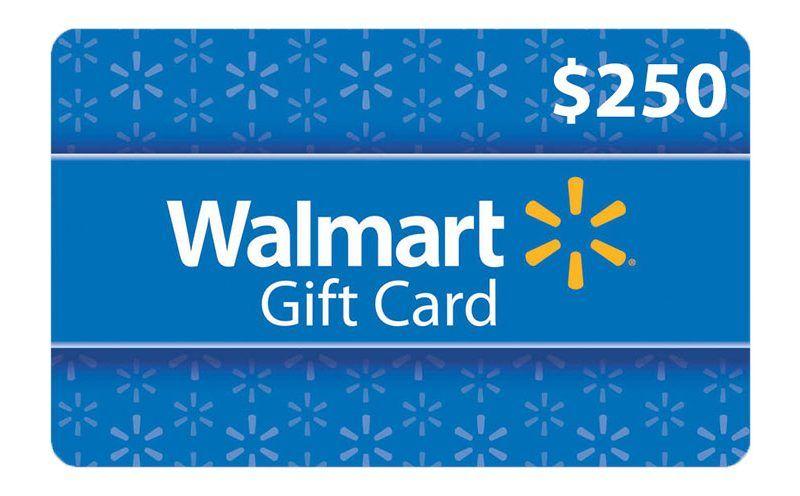 Get a $250 Walmart Gift Card! Online Free Sample Free visa gift - sample gift card
