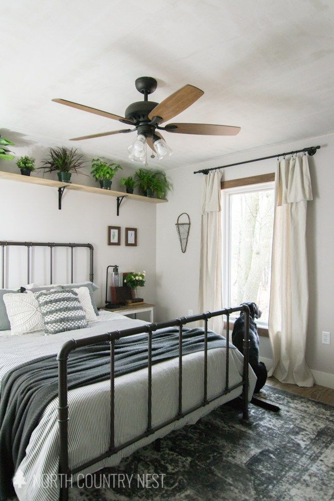 Rustic Industrial Guest Bedroom Decor Decorating A Guest Bedroom One Room Challenge Final Reveal Guest Bedroom Decor Industrial Decor Bedroom Guest Bedroom