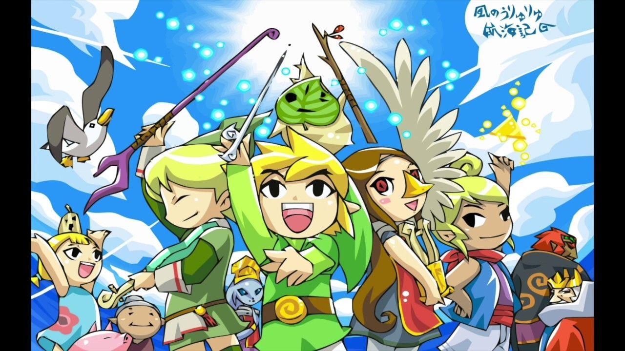 Motivational Legend Of Zelda Music Part 1 The Legend Of Heroes Legend Of Zelda Wind Waker