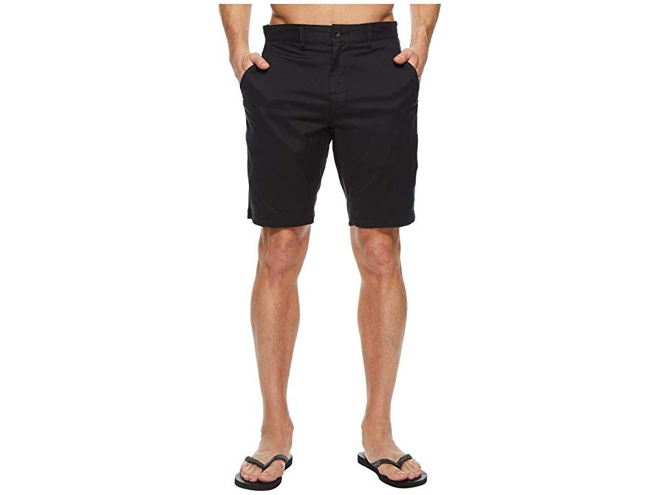 692d8134a3 RVCA Weekend Hybrid II (Black) Men's Shorts. Ditch the workweek and dive  head