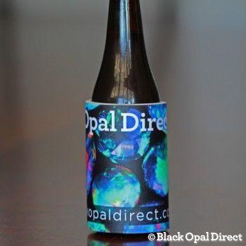 Support Room To Read Black Opal Opal Beer Bottle