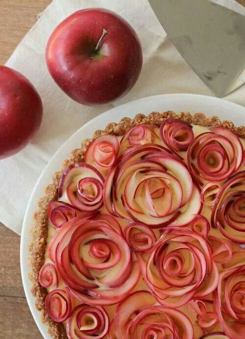 Apple rose pie!