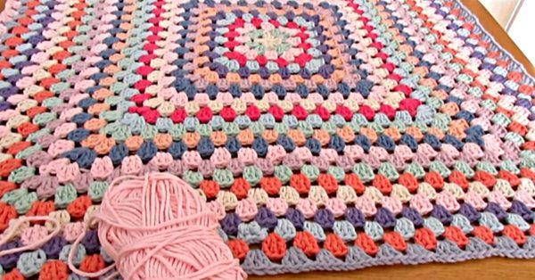 never ending granny square | crochet/sew afghan/quilt | Pinterest ...