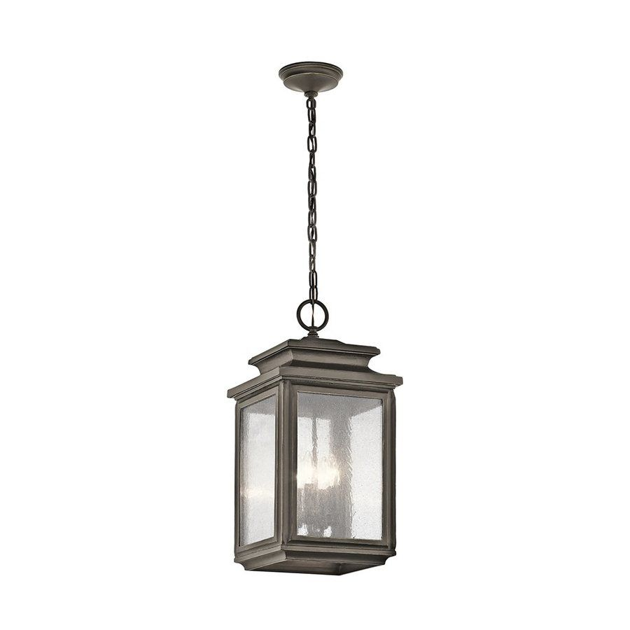 Kichler wiscombe park 23 in olde bronze outdoor pendant light kichler wiscombe park 23 in olde bronze outdoor pendant light mozeypictures Gallery