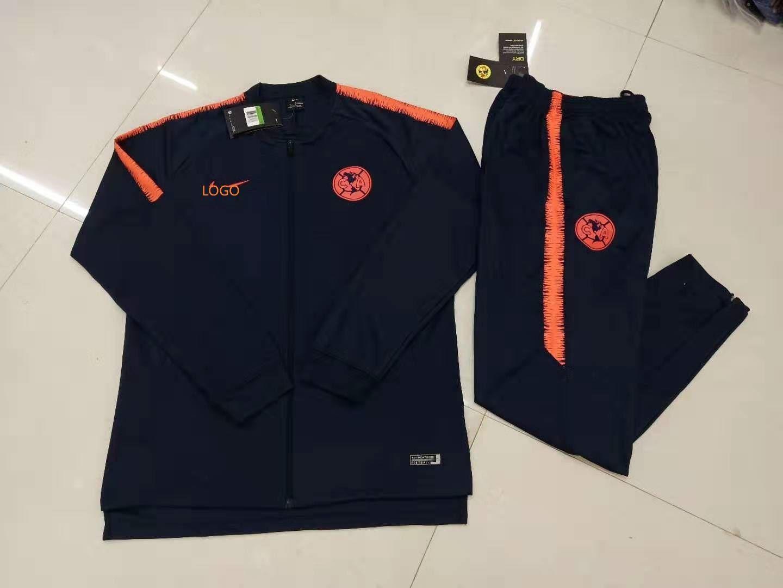 201920 adult pumas unam jacket long sleeve soccer kits