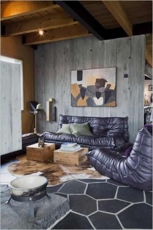 Perfect color scheme; love mixing grey and black