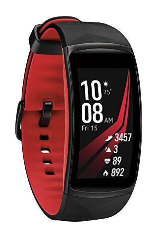 Samsung Gear Fit2 Pro Smart Fitness Band Large Diamond Red Smr365nzraxar Be Sure To Check Out This Awesome Product Note It S An Samsung Gear Fit 2 Fitness Tracker Pro Fitness