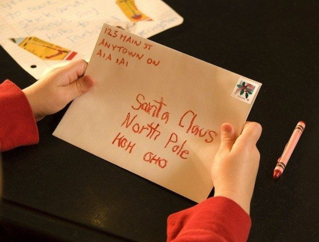 36 Delightful Facts About Canada North pole, Santa and Canadian humour - new letter envelope address format canada