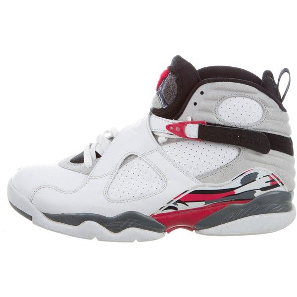 75471809486 Pre-owned Nike Air Jordan Retro 8 Bugs Bunny Sneakers ( 175) ❤ liked on  Polyvore featuring men s fashion
