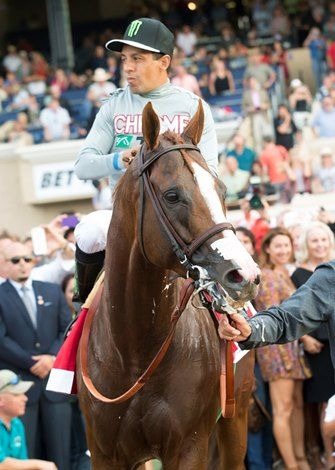 Art Sherman was a swirling mixture of exasperation and confidence when he learned of California Chrome's draw for the $300,000 Awesome Again Stakes (gr. I) Oct. 1 at Santa Anita Park.