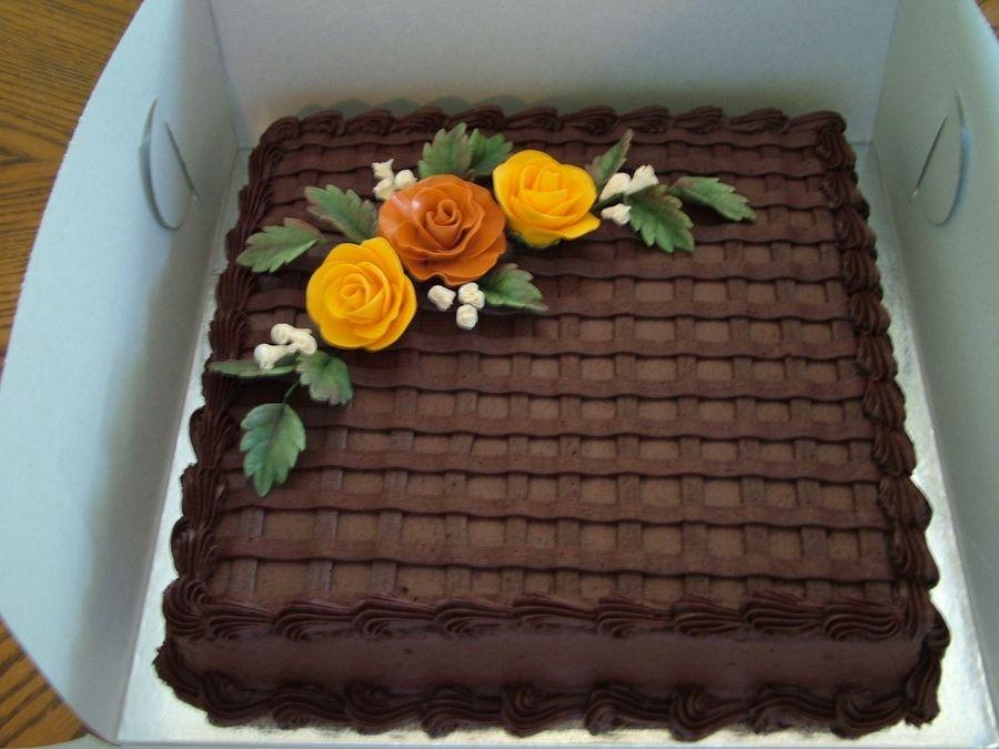 gumpaste fall flowers Fall Flowers Birthday Cakes cake