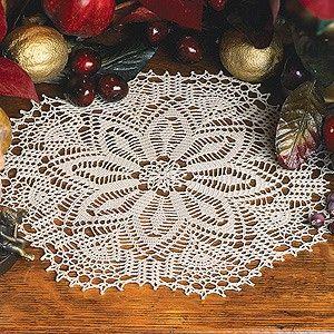 Winter Lace Doily Thread Crochet ePattern | Crochet | Lace