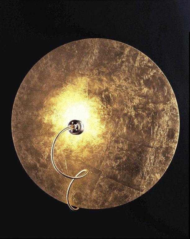catellani smith telchisugio wandleuchte wandlampe gold. Black Bedroom Furniture Sets. Home Design Ideas