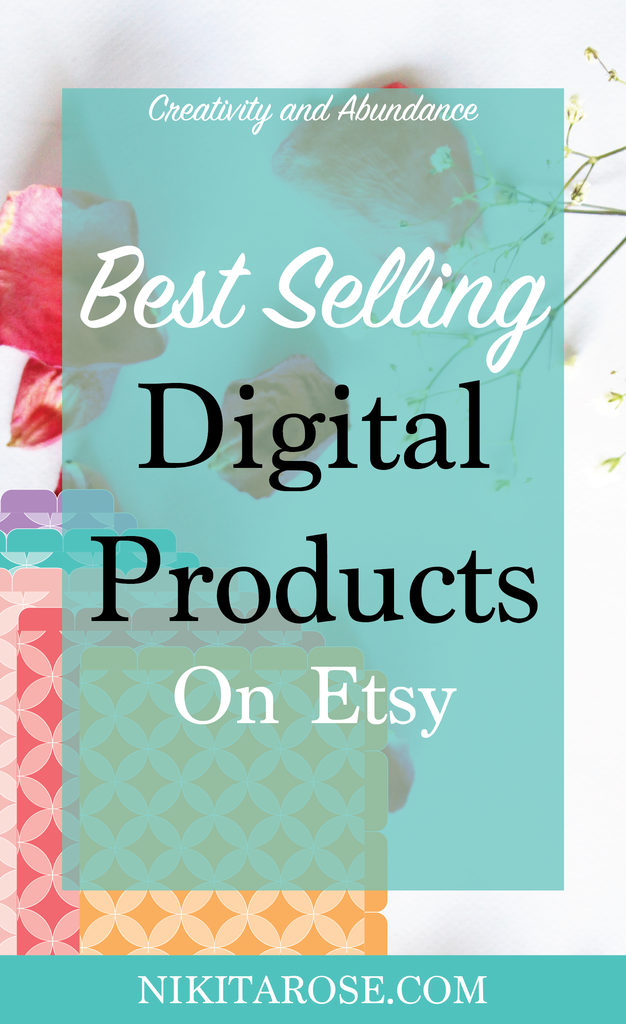 Top Selling Ideas For Digital Products On Etsy Things To Sell