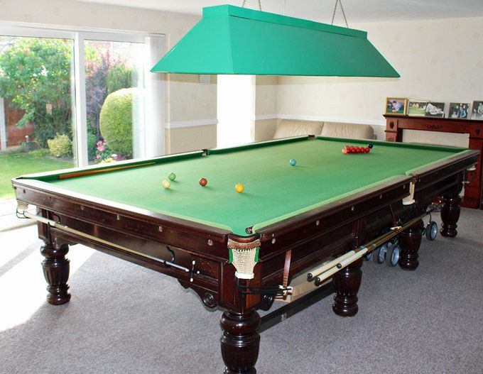 FOR SALE BEST OFFER ACCEPTED Burroughes And Watts Antique Circa - Full size snooker table for sale