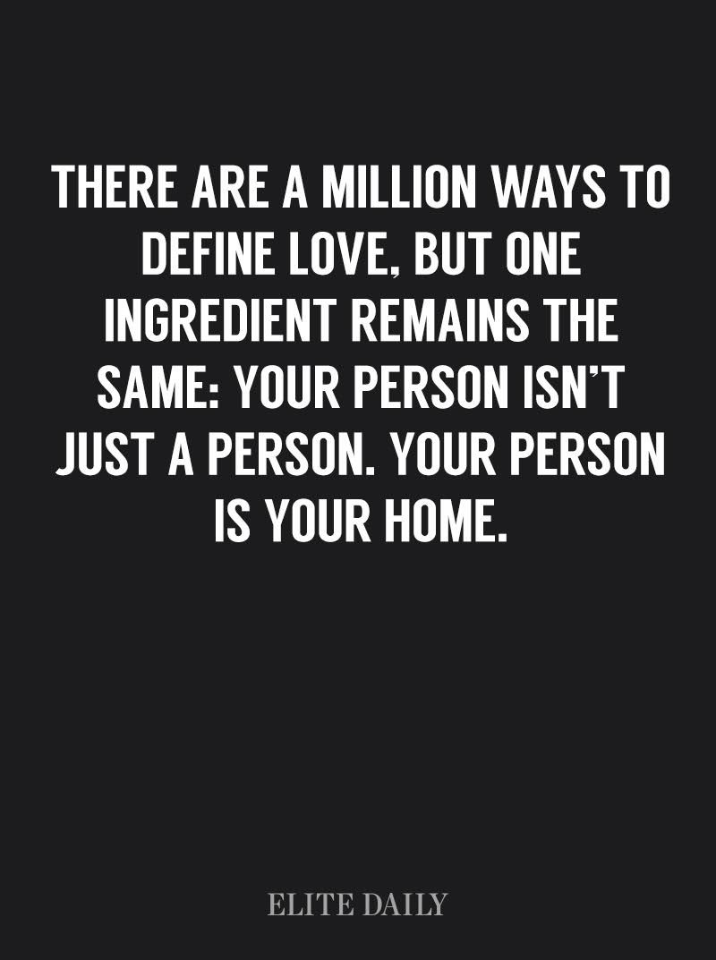 You Know You Re In Love When Quotes Fascinating You Know You're In Love When Home Becomes A Person Not A Place