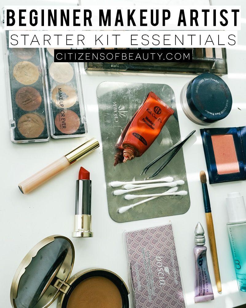 Beginner makeup artist starter kit essentials makeup