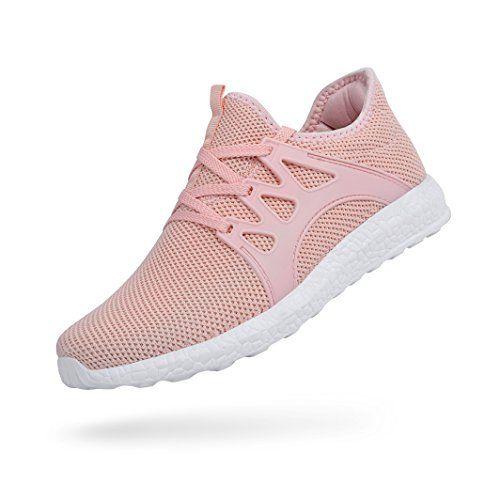 cheap for discount df5ae 584cf QANSI Chaussure de Sport Femme Basket Femme Sneaker Chaussures Lacets  Fitness