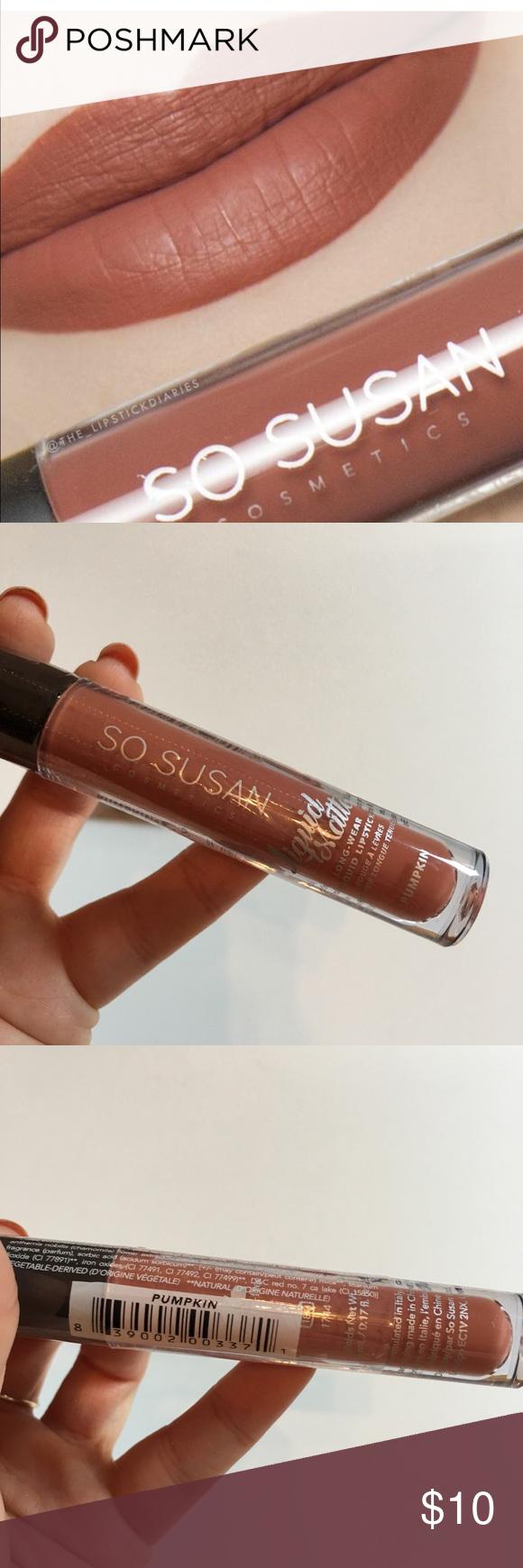So Susan Liquid Matte Lipstick In Pumpkin Matte Liquid Lipstick Matte Lipstick Lipstick