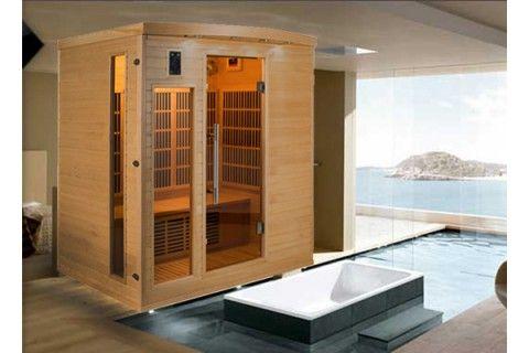 Sauna Infrarouge APOLLON 4 Personnes Profitez de notre prix exceptionnel de 2079€ sur lekingstore.com Contactez nous au 01.43.75.15.90