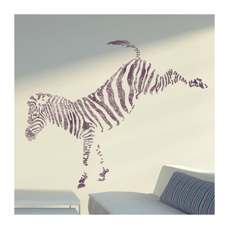 large wall stencils Wall Stencils Zebra stencil Large