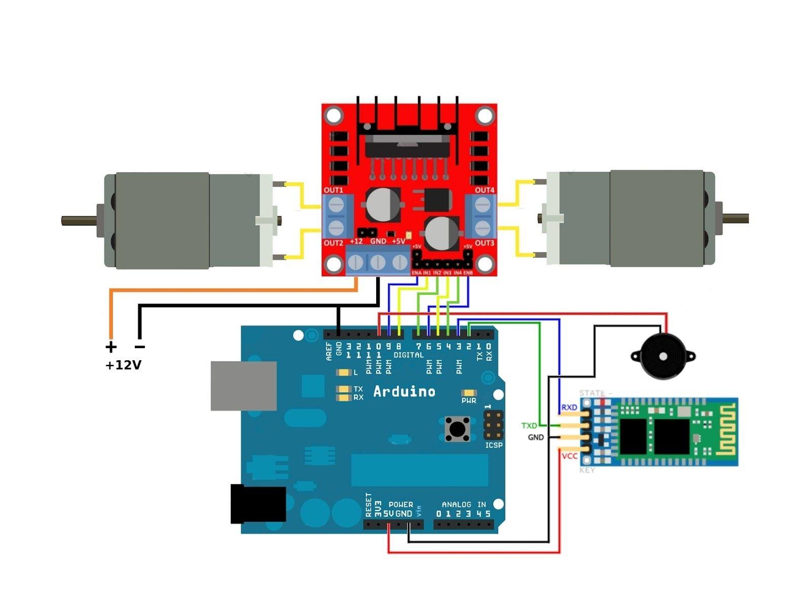 Circuito Emisor Receptor : Hc en arduino con este emisor receptor he construido este