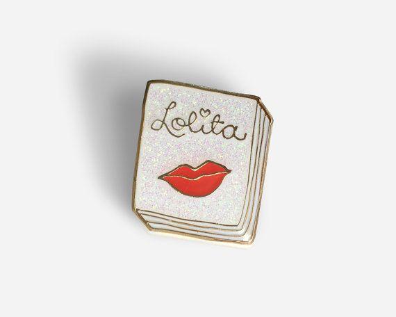 Book Pin: Lolita by janemount on Etsy