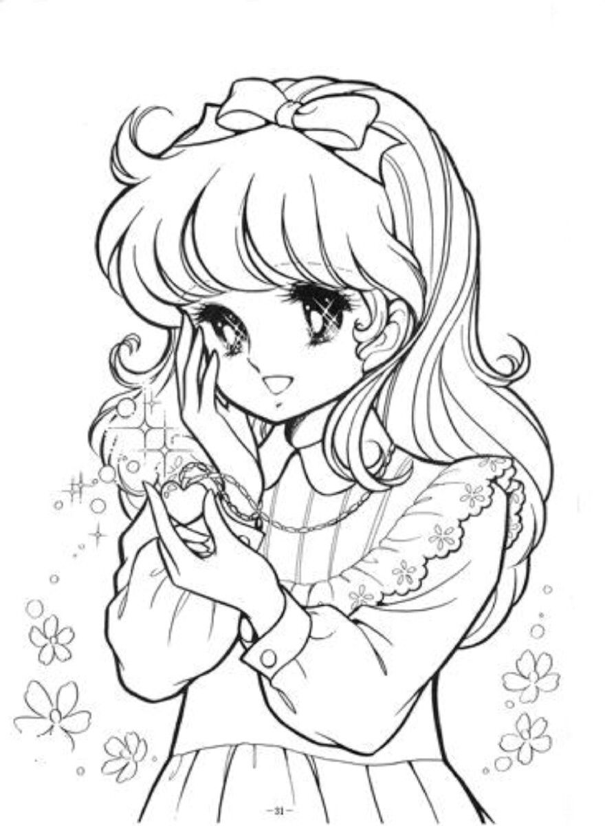 Pin by valerie on Coloriage  Coloring pages anime manga, Cute