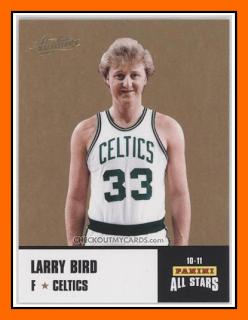 Old School Panini Usa La Legende De Larry Bird Oiseau Larry Celtics De Boston Nba