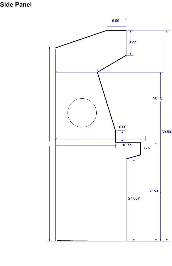 Arcade Cabinet Dimensions Cabinets Matttroy  sc 1 st  Okeviewdesign.co & Diy Arcade Cabinet Template | Okeviewdesign.co
