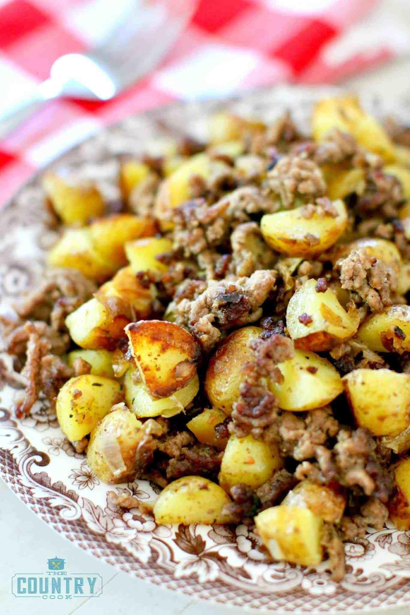 Hamburger Hash | Recipe | Hamburger and potatoes ...