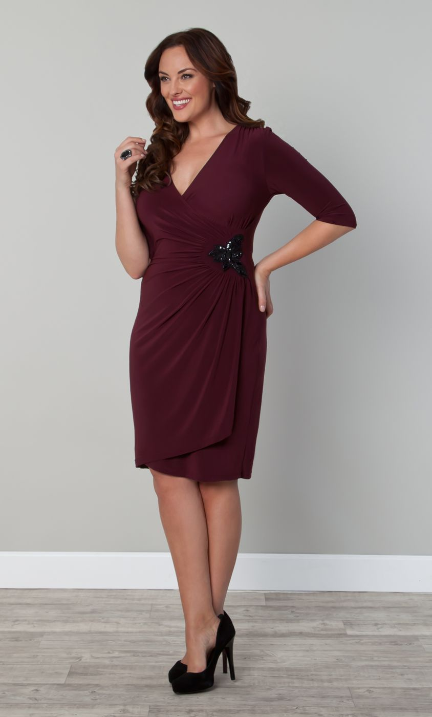 The Plus Size Ciara Cocktail Dress is available in this beautiful ...