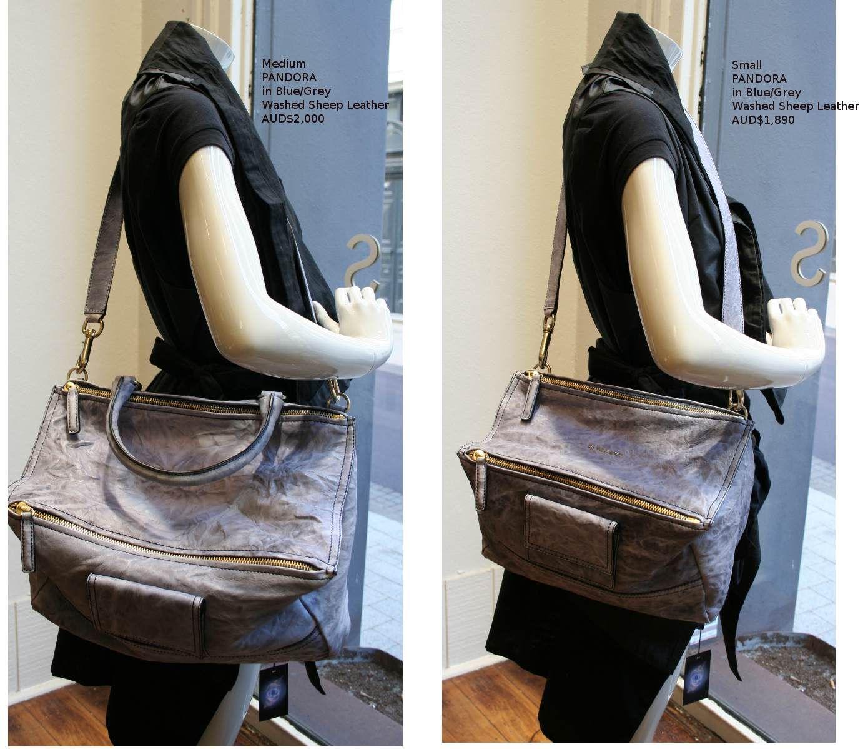 d3a2808b8ea ... Givenchy Pandora Small and Medium size comparison Givenchy Pandora  Medium, Pandora Bag, Givenchy Bags ...