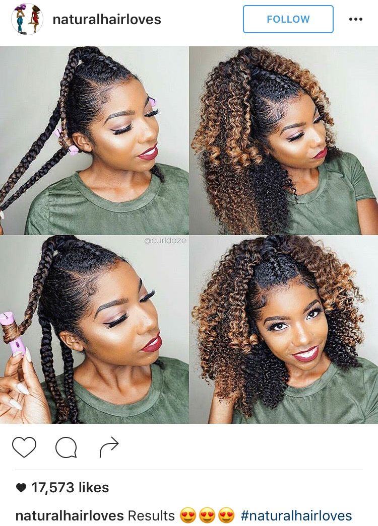 Half Up Half Down Braid Out Red Lips Damp Hair Styles Natural Hair Secrets Natural Hair Styles