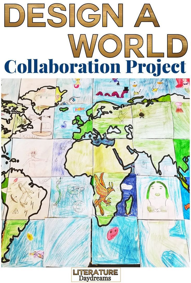 World Collaborative Poster | Secondary and College English Teaching ...