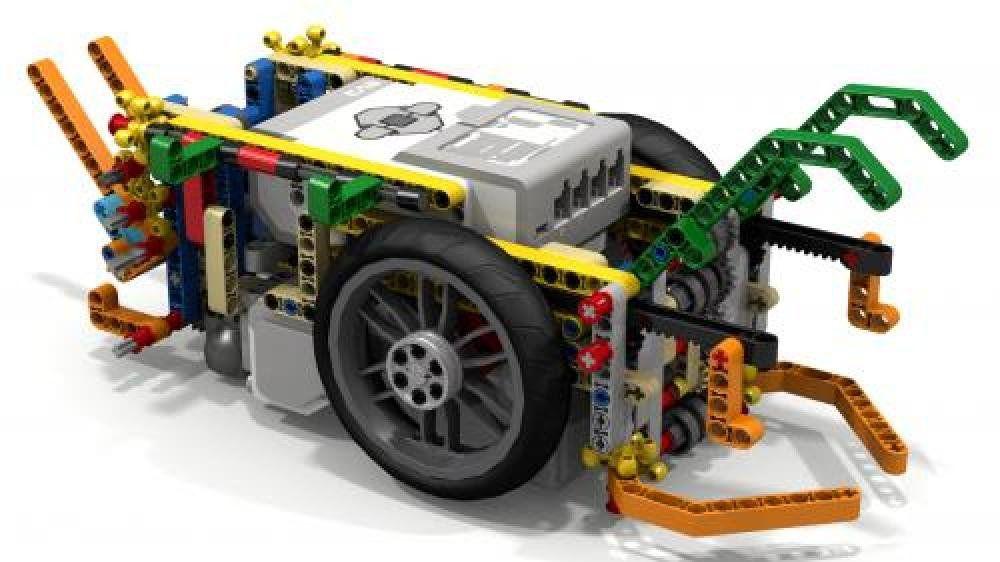 Lego Moc Moc 6208 Driving Rings Fll Robot Building Instructions