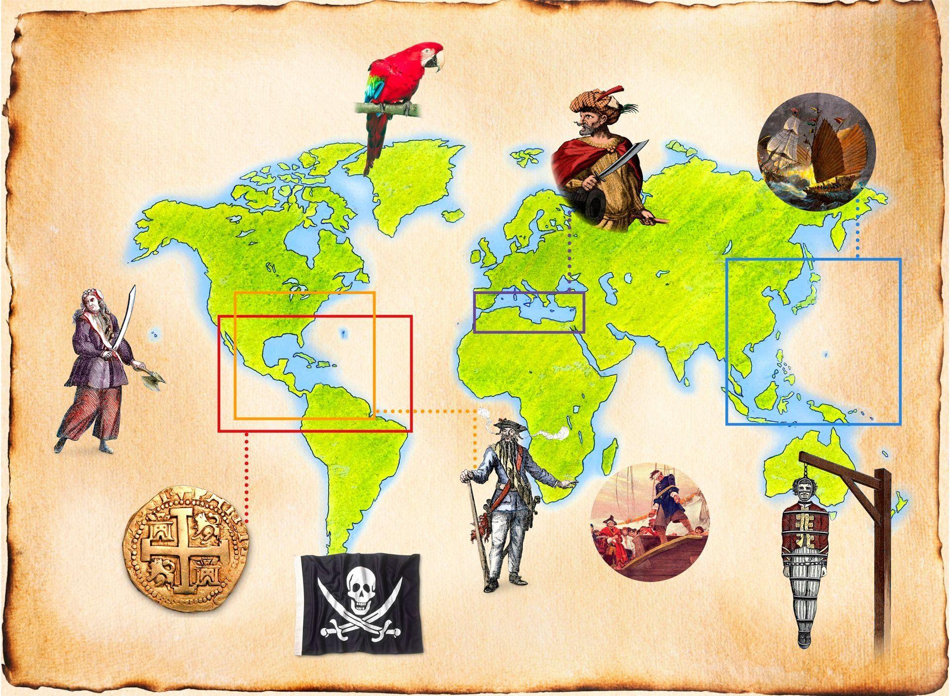 Pirate Ship Coloring Sheet Di Dengan Gambar