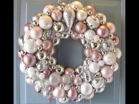 Christmas 2016 Super Easy Christmas ornaments to make Wreath