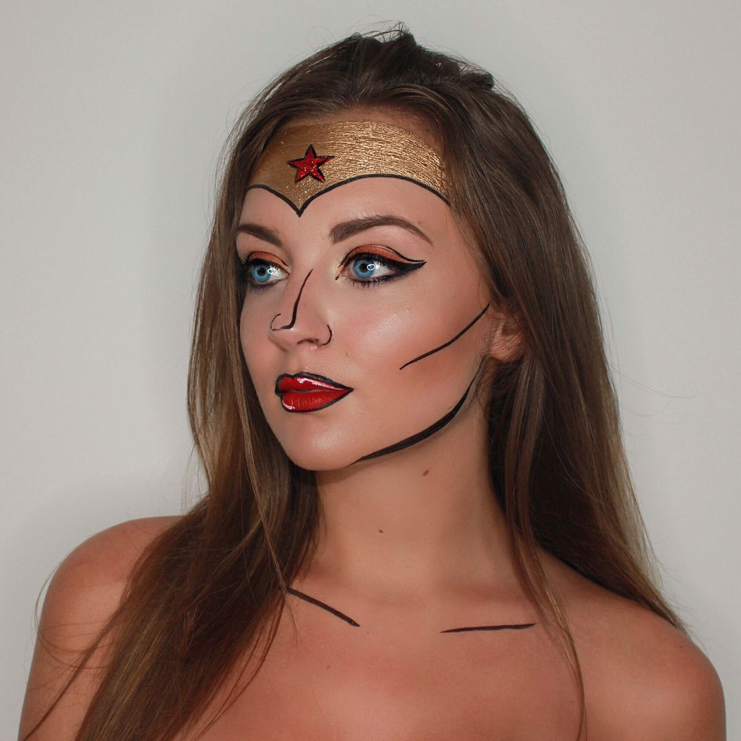 Wonder Woman look created by Minnie McGee follow