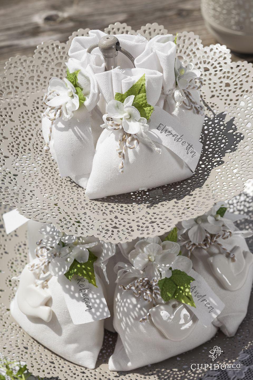 Bomboniere Matrimonio Eleganti Sacchetti In Cotone Cupidoandco Matrimonio Elegante Matrimonio Sacchetti Per Bomboniere