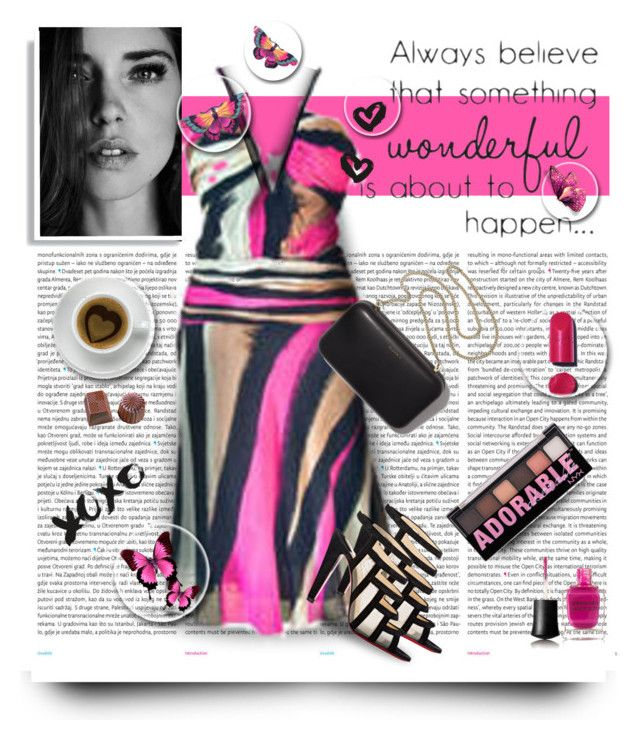 """""""For My Dear Melinda"""" by mari-777 ❤ liked on Polyvore featuring Oris, Versace, Christian Louboutin, Clare V., Chanel, Deborah Lippmann, NYX and Zone"""