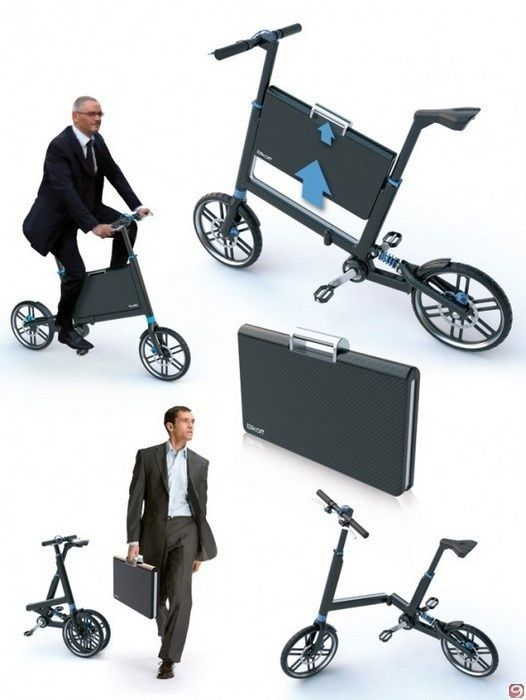 bike in a briefcase! My Fav Superfast Cars Pinterest