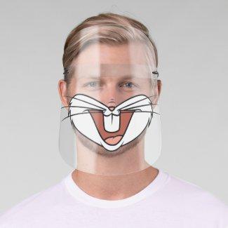 Bugs Bunny Big Mouth Face Shield Zazzle Com Big Mouth Face Shield Face