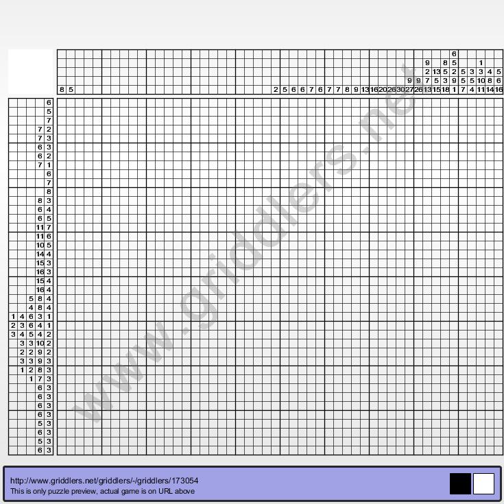 Griddlers Puzzle 173054 Johan Cruyff
