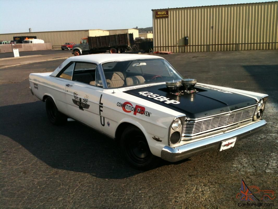 1965 drag car | Cool Cars | Pinterest | Ford galaxie, Cars and Ford