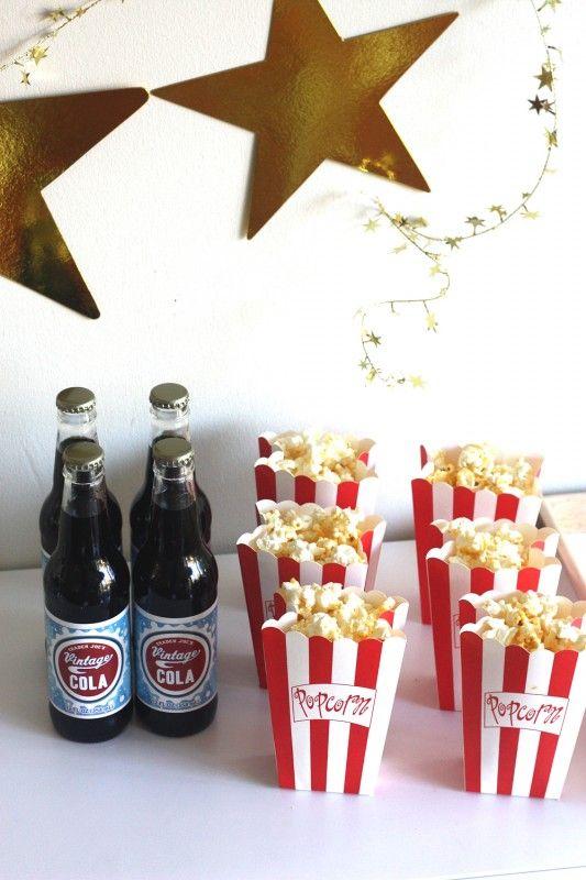 Academy Awards Oscar Party Ideas | Oscar party, Food and Popcorn