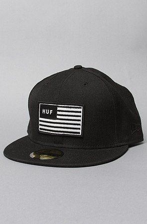 6bcbbbe28c1 HUF The Huf Flag New Era Hat