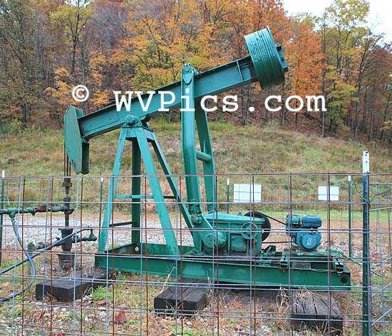 Natural Gas Well Pump Jack West Virginia Gas Well Pump